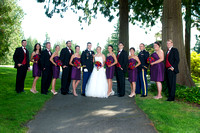 Formal Portraits -  Wedding Party & Family